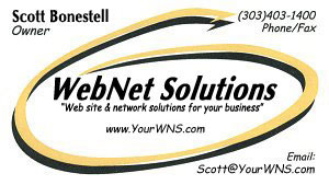 Contact WebNet Solutions today!